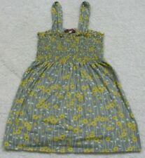 Tank Top Tee T-Shirt Sleeveless Size Medium Julie's Closet Blue Yellow & White