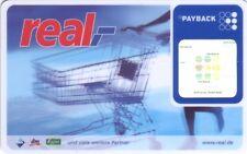 alte Payback Karte von real,- (CF096)