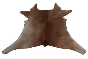 """Cowhide Rugs Calf Hide Cow Skin Rug (26""""x30"""") Brown CH8125"""