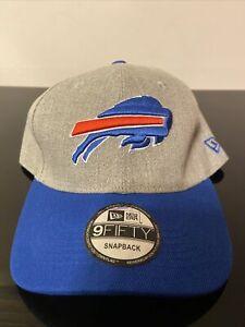 NEW ERA 9FIFTY SNAPBACK NFL BUFFALO BILLS BALL CAP NEW MINT CONDITION