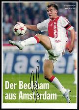 Rafael van der Vaart Ajax Amsterdam Passepartout Original Signiert+G 12068