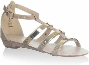 Laura Biagiotti Damen Sandale, beige, EU 40