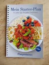 +++Weight Watchers Mein Starter - Plan 2015+++