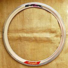 "Vintage Campagnolo Shamal 650C 26"" 16H rim clincher low lo pro time trial crono"