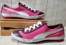 PUMA 917 Mini - Pink/White/Berry Canvas Lace Up Sneakers 352013 03 Women Sz 10 M