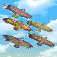 1.1M Flying Eagle Kite Novelty Animal Kites Outdoor Sport With Plastic Handle