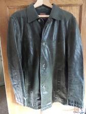 HUGO BOSS leather jacket medium