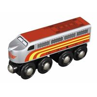 Sante Fe Engine for Wooden Railway Train Set 50489 - Brio Compatible