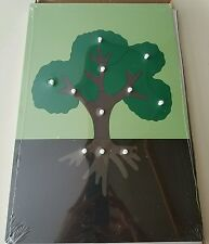 New Montessori Botany Material - Large Flower & Large Tree Puzzles -Set of 2