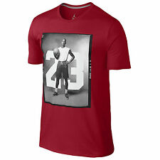NIKE Air Jordan '88 Photo T-Shirt sz L Large Dri-FIT Gym Red Black Flight 11 23