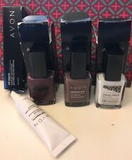 AVON NAIL EXPERTS INSTANT GEL CUTICLE REMOVER, MOSAIC EFFECT 2 NAIL POLISH - NEW