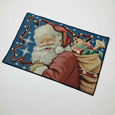 Santa's Night Christmas Traditions Santa Claus Toys Single Tapestry Placemat