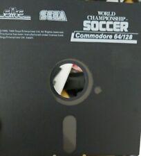 World Championship Soccer (Sega 1990) (C64 Diskette (only) 100 % ok