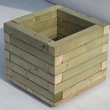 30cm Wooden Sturdy Square Garden  Planter