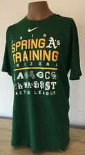 Nike Dri-Fit Tee MLB SPRING TRAINING 2019 Cactus League Sz XL Team Logos New