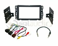 Radio Stereo Mounting Installation Kit Combo DD + Wire Harness + Antenna CH17