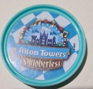 Alton towers oktoberfest 2021 Pop Badge