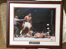 MUHAMMAD ALI SIGNED LARGE PHOTO FRAMED 22X 26 STEINER ONLINE AUTHENTICS