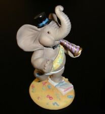 "HAMILTON COLLECTION Peanut Pals. Elephant ""Bringing In The New Year"""