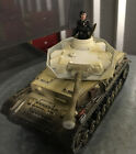 W. Britain Set 17460 WW2 German Panzer (B)