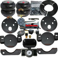 Air Helper Spring Kit chevy gmc 25/35HD 2001-2010 Compressor Dual Paddle Vlv xzx