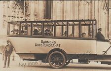 German Unposted Collectable Bus & Tram Postcards