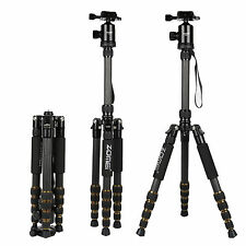 ZOMEI Carbon Fibre Camera Tripod Monopod Ball Head For Nikon Canon Sony DSLR SLR