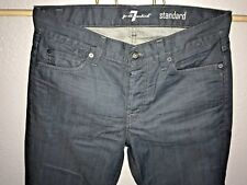 Seven For All Mankind Jeans Mens 32 X 33 Dark Wash Straight STANDARD 7's Sevens