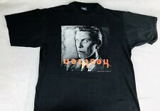 Rare David Bowie Heathen 2002 Tour T Shirt Size Large