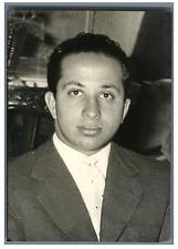 Irak, Roi Faisal II d'Irak  Vintage silver print Tirage argentique  9x1