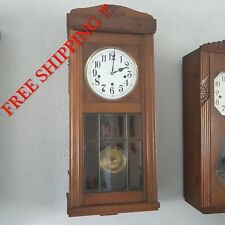 0240 - Very rare Lorenz Furtwängler and Son - LFS  Westminster chime wall clock