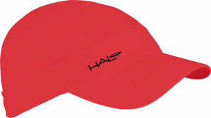 Halo Sport Hat Red One Size Sweat Block Lightweight Dryline Fabric Active