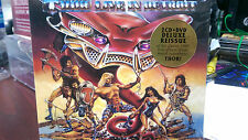 THOR - Live in Detroit 2 CD + Dvd Deluxe Reissue Heavy Metal Blood Run Red