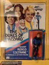 Vintage Sheriff Rosco Coltrane CAS 80+ C80 B85 F85 Y-86.3 Dukes of Hazzard Mego