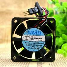 1pc NMB 6CM 6025 2410ML-05W-B39 24V 0.10A for fanuc Male head