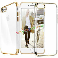 For iPhone 7/7plus Luxury Ultra-thin Slim Silicone Soft TPU Case Cover Skin New