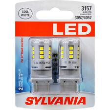 Sylvania LED Cool White 3157 - 2 Turn Signal Light Bulbs 3057 4057 - SHIPS FREE