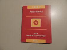 Manual diagnostic Atelier Manuel Dodge Dakota 1997