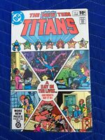THE NEW TEEN TITANS #8 JUNE 1981 NEAR MINT A DAY IN THE LIVES... COMIC BOOK