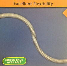 1''Id Vac-U-Flex Cmd Pvc Grey Ducting Hose -20 To 150''F'&#0 39;, 50 Feet
