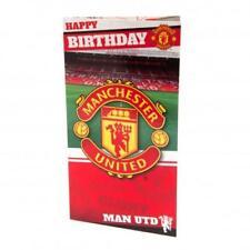 Manchester United Man Utd Fc Old Trafford Birthday Card Stadium