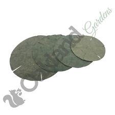 More details for hanging basket liners green jute 12