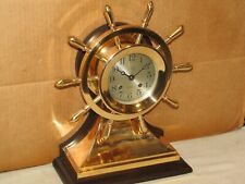 "Chelsea Antique Ships Bell Clock~4 1/2"" Mariner Model~1929~Restored"