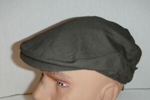 Stetson driving Cabbie Hat cotton Cap hat New medium BROWN