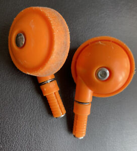 Bright Starts Walker Front Orange Casters ( Wheels) Replacement Part