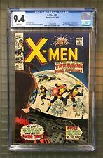 X-Men #37 CGC 9.4 Marvel 1967 1st Mutant Master! Key Silver White Page K8 124 cm
