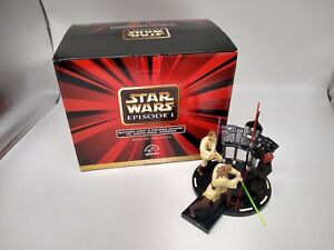 Star Wars Episode 1 Applause Duel Of The Fates Diorama Statue with Darth Maul