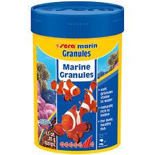 Sera Marin Granules 100mL Saltwater Fish Food Pellets Krill Spirulina