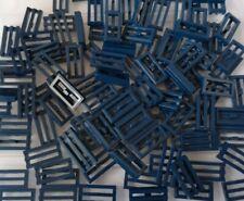 Lego Fliese 1x2 Gitter mit Bottom Groove 2412b in dunkelblau 10 Stück NEU r:107