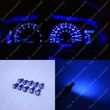 10x Blue T5 73 74 85 Instrument Gauge Dashboard Dash LED Light Bulbs For Toyota